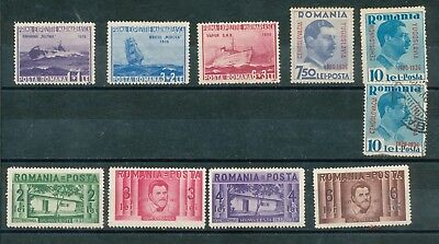 Romania 1936 onwards, mint and used S-18747