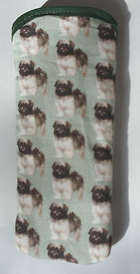 Lhasa Apso Puppies   All Over  Cotton Glasses Case