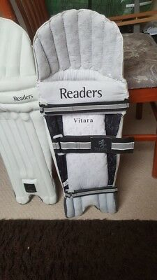 Readers Cricket Pads Adult Brand New