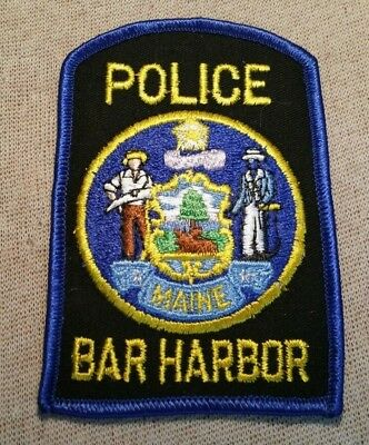 ME Bar Harbor Maine Police Patch