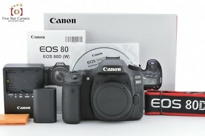 Near Mint!! Canon EOS 80D 24.2 MP Digital SLR Camera Body from Japan