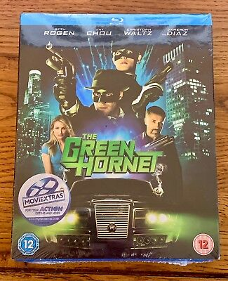 The Green Hornet (Blu-ray, 2011) New and Sealed