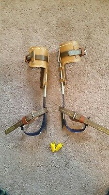 Klein CN1972AR Lineman Gaffs With Pads And Straps