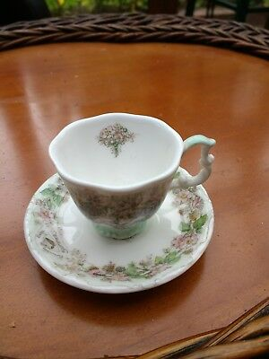 Royal Doulton Brambly Hedge miniature cup and saucer