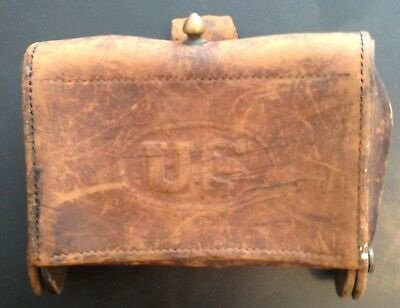 McKeever Cartridge Box 1904 Rock Island Arsenal  Marked HEK