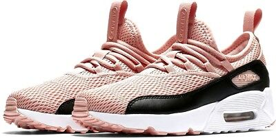 hot sale online 498c0 2d6d0 Nike Air Max 90 EZ (GS) Youth Girls Running Shoes AH5212 600 Coral Stardust