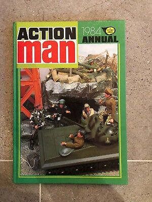 Vintage Action Man 1984 Annual