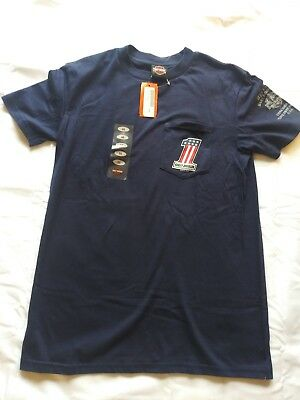 Harley davidson Tee Shirt Medium With Pocket new with tags