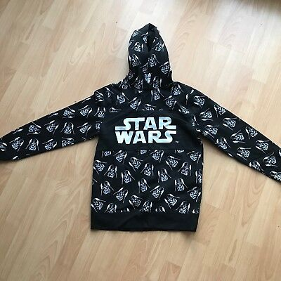 Boys Star Wars Darth Vader Hoodie sweatshirt age 12-14 years 158-164cm