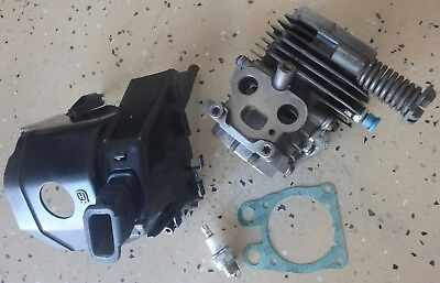 HUSQVARNA K760 Cylinder Case (No Piston) Assembly USED - FREE COVER/PLUG/MUFFLER