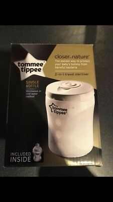 Tommee Tippee Travel Steriliser (BRAND NEW)