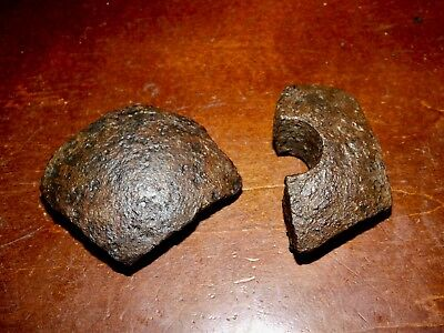 Confederate States Polygonal Shell Frags Recovered Kennesaw Mountain Battlefield