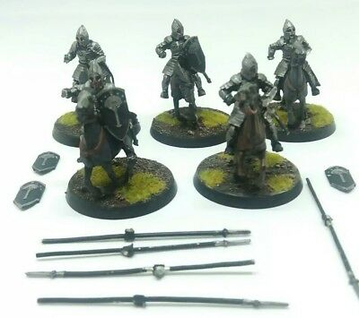 games workshop Lord of the rings 5 metal gondor knights minas tirith