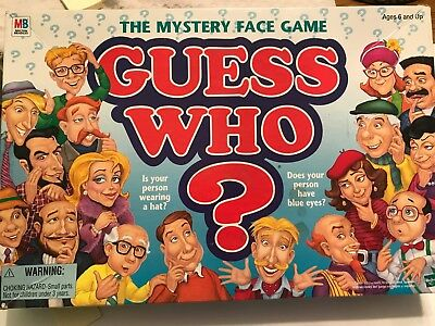 1998 Guess Who Board Game by Milton Bradley The Mystery Face Game