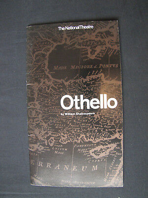 OTHELLO by WILLIAM SHAKESPEARE National Theatre OLD VIC 1964
