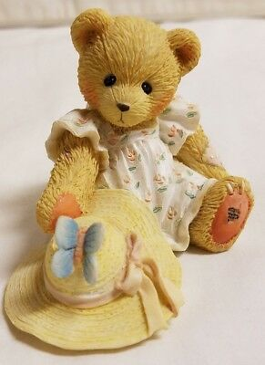 Cherished Teddies Bear Figurine Courtney Springtime Blessing From Above 916390