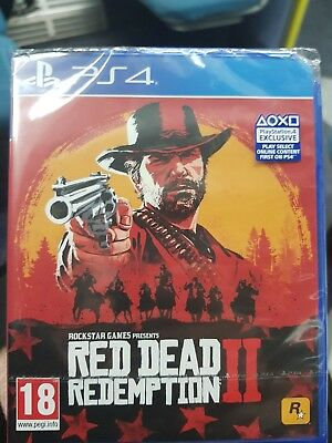Red Dead Redemption 2 (Sony PlayStation 4 2018) - UK Version Sealed