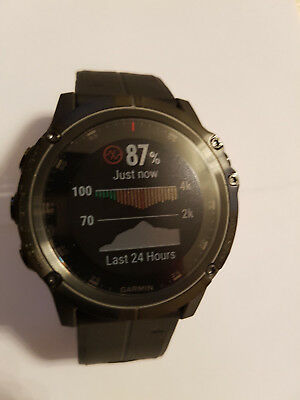 Garmin Fenix 5X Plus Sapphire Multisport GPS Watch £850