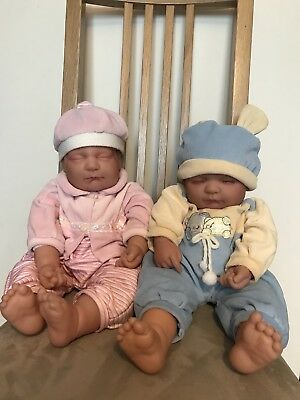 Lifelike Newborn Twin Baby Dolls Boy And Girl - Available Separately See Pricing