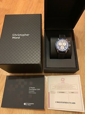 Christopher Ward C7 Rapide Chronograph COSC Limited Edition 500 Pieces RRP £795