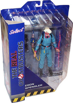 The real GHOSTBUSTERS Deluxe Action Figure mit Diorama-Teil: EGON SPENGLER