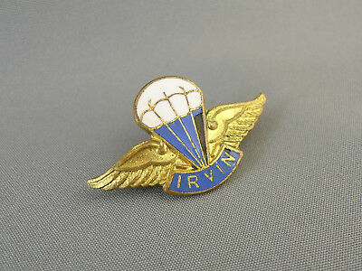 Irvin Parachute Company Irvin Air Chutes Qualification Badge by H.W.Miller