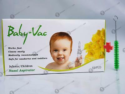 Nezpirateur - NASAL ASPIRATOR BABY-VAC + Special Brush - Full KIT