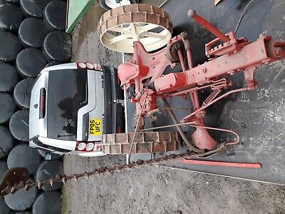 Bamford Finger Bar Mower tractor