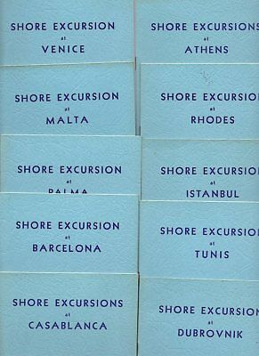 13 Shore Excursions Booklets EMPRESS OF AUSTRALIA Cruise 1934 CANADIAN PACIFIC
