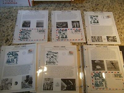 70+ ORBIT Covers Project Gemini - Complete Launch & Recovery - Orig pages+Binder