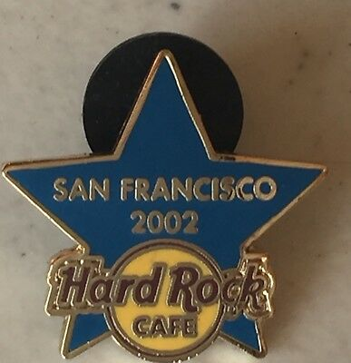 hard rock cafe pins San Francisco training Star  2002