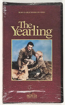THE YEARLING (VHS, Clamshell) Peter Strauss, Jean Smart, Wil