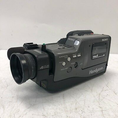 Sony Handycam CCD-F30 Video 8 Camera Recorder CAMERA ONLY CAMCORDER UNIT ONLY