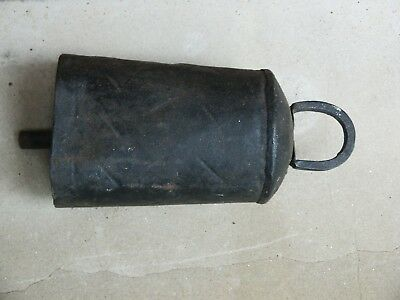 Vintage Large Hand Made Metal Cow Bell