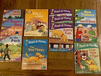 Oxford Reading Tree Read With Biff, Chip And Kipper Level 1-3 12+ books