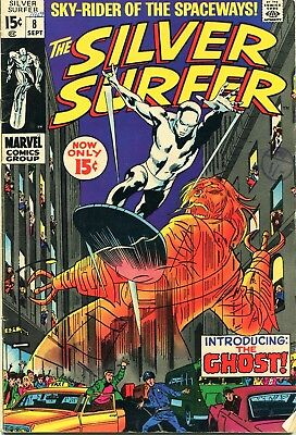 Marvel Comics - The Silver Surfer 1969 issue