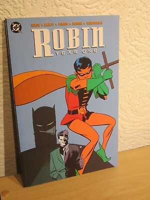 Robin Year One Paperback Graphic Novel Dc Comics Read Once Dixon Beatty Pulido