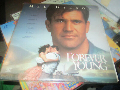 Mel Gibson Forever young laser disc pal