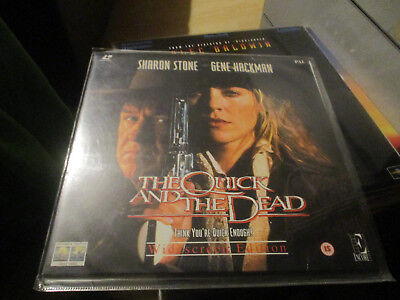 The quick and the dead Laserdisc