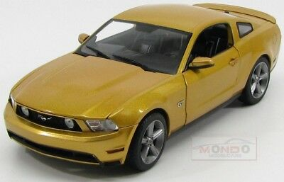 Ford Usa Mustang Gt Coupe 2010 Gold Met Greenlight 1:18 GREEN12870 Model