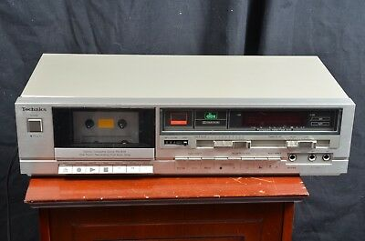 Vintage Technics RS-B18 Stereo Cassette Tape Deck Player Recorder TESTED