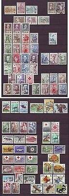 v112/ Finland Collection of Red Cross Series and Issues ca1938-1990