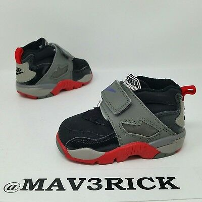 d0c0be6f7537 Nike Diamond Turf 2 (Toddler Size 5C) Basketball Sneaker Shoes Black Gray  Red