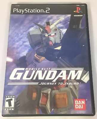 Mobile Suit Gundam: Journey to Jaburo - (Sony, PlayStation 2) PS2 Complete CIB