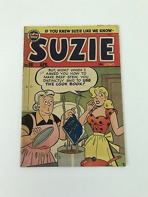 Suzie Comics #98 (1954, Archie) VG Katy Kane Good Girl RARE