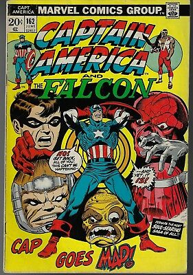 CAPTAIN AMERICA # 162 - First Full Appearance of Peggy Carter