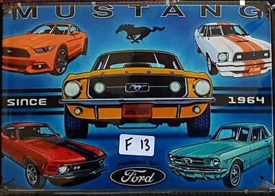 Ford Mustang Metal Tin Signs Bar Shed & Man Cave Signs AU Seller