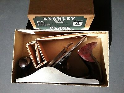 Stanley Bailey No. wood plane in box