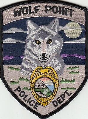 Wolf Point Police Department (Nice Colors) Montana Mt Patch
