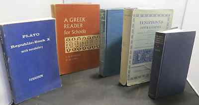 Lot of Ancient Greek Texts, Reader and Translations